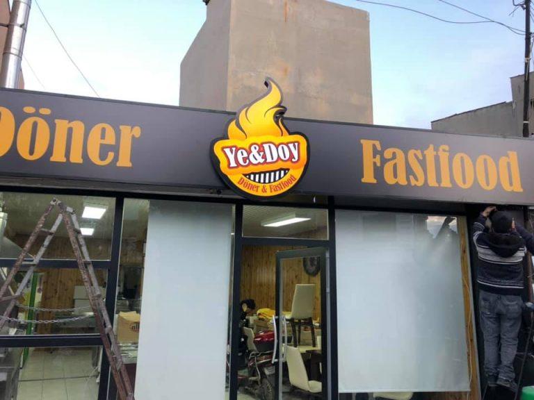Ye&Doy Fastfood 4 Kasım'da açılacak.