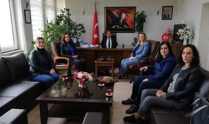 CKD'den Keşan Kaymakamı Nuri Özder'e Ziyaret