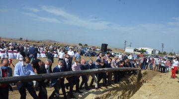 Beyendik'te İçme Suyu Temel Atma Töreni gerçekleşti