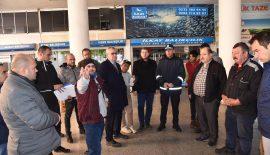 Keşan Belediyesi, Balık Pazarı'ndaki sorunların giderilmesi için  önce pansuman yapacak, sonra esnafla köklü ve kalıcı çözüm üretecek