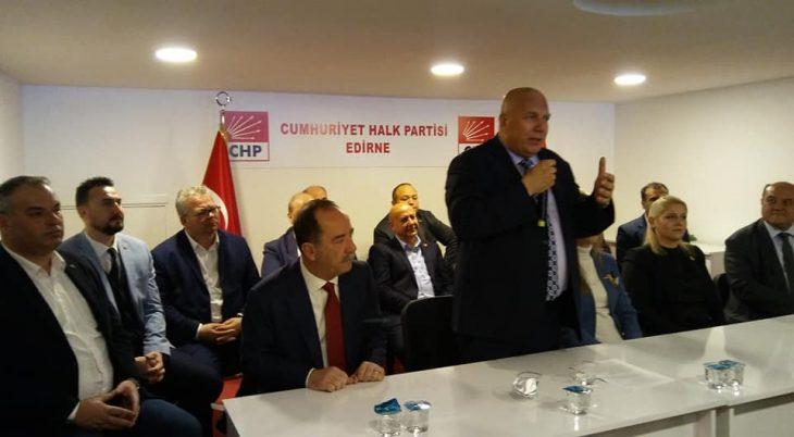 Fevzi Pekcanlı CHP İl Başkanlığı'na adaylığını açıkladı