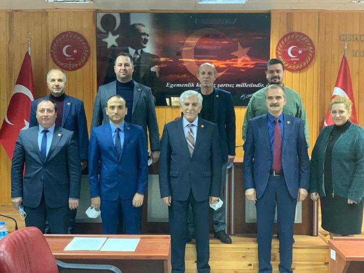 ESTAB Başkanı Süleyman Paçaman İl Genel Meclisi'ne ESTAB'ı ve projelerini anlattı