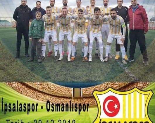 Süper Amatör Lig'de Nefes Kesecek Maç İpsalaspor-Osmanlıspor