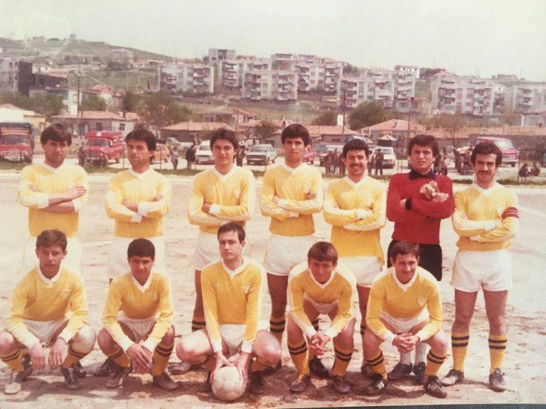 Hilmi Dinçer'in Futbolculuk Günleri