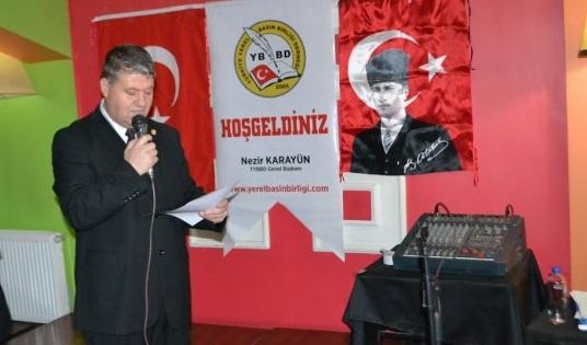 TYBB Edirne Şube Başkanı Erdoğan Demir'den 2021 Yılı mesajı…