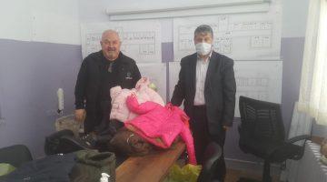 Cavit Balcı ve Bülent Türker Keşan'daki çocukları mutlu etti