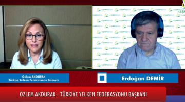 Türkiye Yelken Federasyonu Başkanı Özlem Akdurak, Keşan Postası'nda Erdoğan Demir'in canlı yayın konuğu oldu
