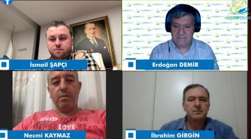 İsmail Şapçı, Necmi Kaymaz ve İbrahim Girgin Keşan Postası'nda Erdoğan Demir'in canlı yayın konuğu oldu
