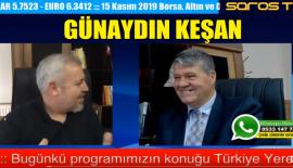 """Erdoğan Demir, Saros TV'de """"Günaydın Keşan"""" programına konuk oldu."""