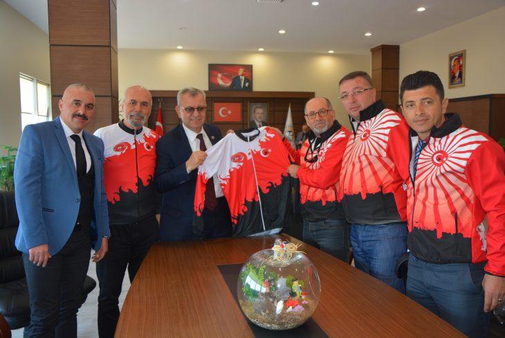 Sardos'tan Mustafa Helvacıoğlu'na Ziyaret…