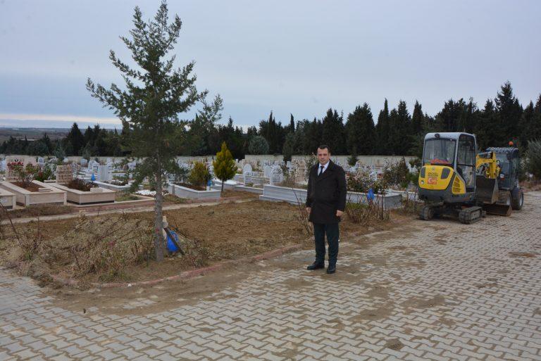 Keşan Belediyesi mezar yapımına düzen ve disiplin getiriyor