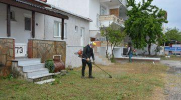 Mücavir alanlarda örnek temizlik çalışması