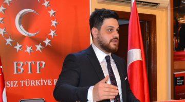 """BTP lideri Hüseyin Baş'tan 'vaka sayısı' göndermesi """"Darısı işsizlik ve enflasyonun başına"""""""