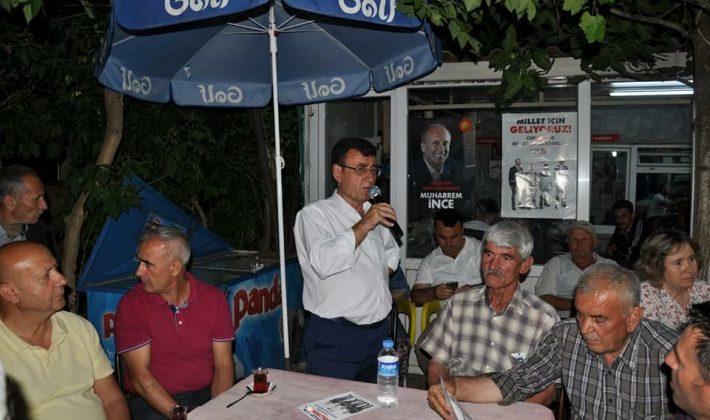CHP Edirne Milletvekili Adayı Yakup Atalay Çalışmalarına devam ediyor