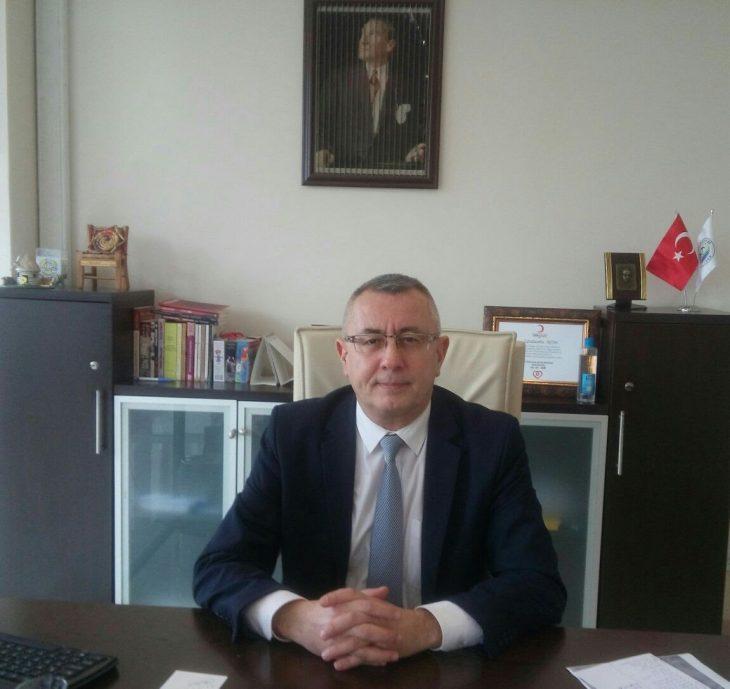 """Cengizhan Aktan, Sazlıdere'de yapılması öngörülen tesislerin, birinci derecede deprem bölgesinde yeralacağını hatırlatarak, """"Yapay afete ihtiyacımız yok!"""" dedi"""