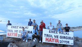 """BAŞKAN MÜJDEYİ VERDİ """"TROLLER GELMİYOR"""""""