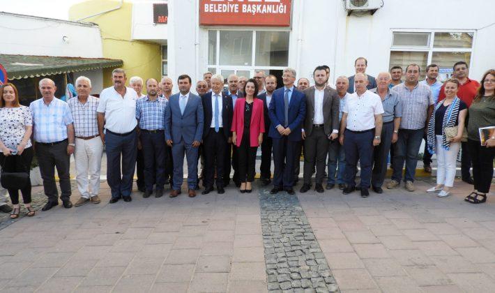 Gelecek Saros İstişare Toplantısı Enez'de yapıldı