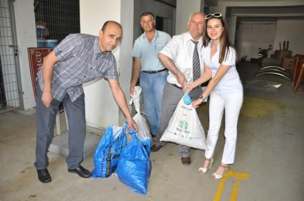 Belediye kampanyasıyla 270 kilogram atık pil toplandı