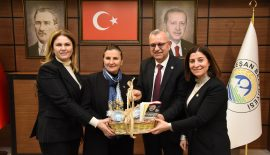 Bölge Koordinatörü Milletvekili Kaynarca'dan Keşan Belediyesi ile İlçe Teşkilatı'na ziyaret