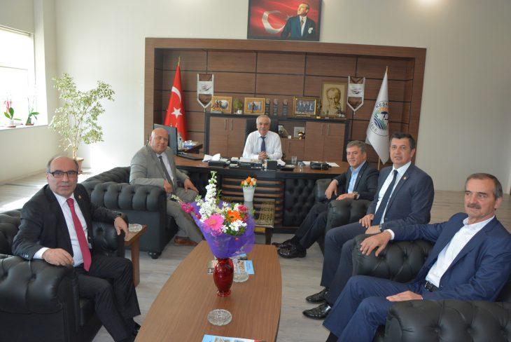 Milletvekilleri Emir, Gaytancıoğlu ve Bircan'dan Başkan Özcan'a ziyaret…