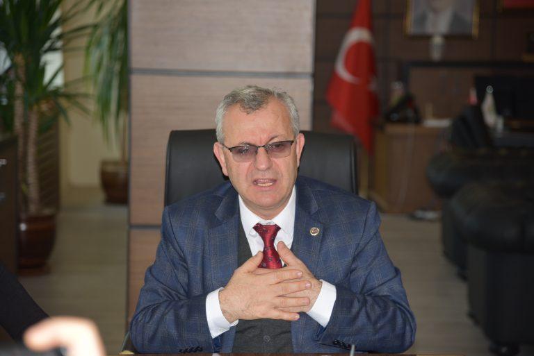 Helvacıoğlu, Basın mensuplarının sorularını cevaplandırdı