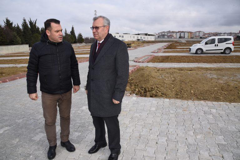 Keşan Belediyesi, ilçeye yeni ve daha büyük  bir mezarlık kazandırmak için harekete geçti
