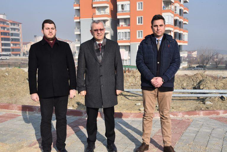Mustafa Helvacıoğlu'ndan Yeni Mahalle'de Basın Toplantısı