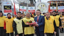 57. Alay'ın temsili yürüyüşçüleri 15 Mart'ta Keşan'a ulaşacak