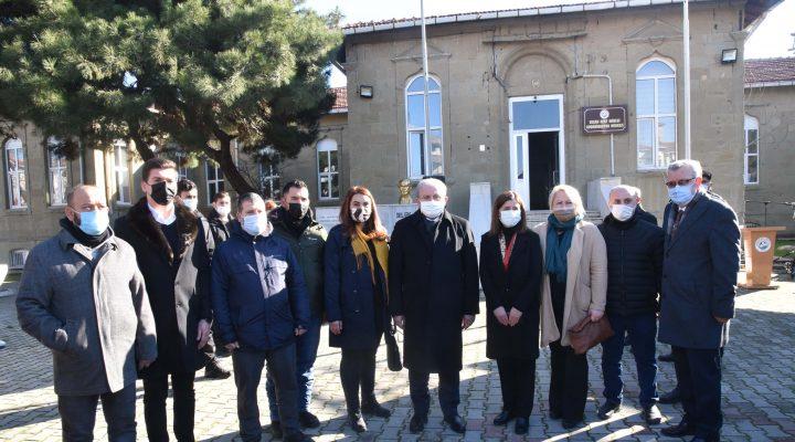 """Mustafa Şentop: """"Keşan bizim memleketimiz, evimizdeyiz"""""""