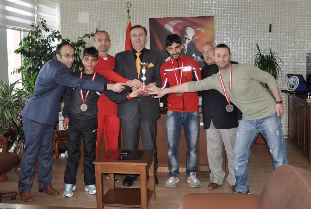 Keşanlı Atletlerden Dınkırcı'ya ziyaret