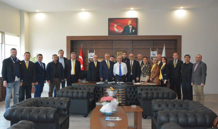 KTSO Sarı Listeden Özcan'a Ziyaret…