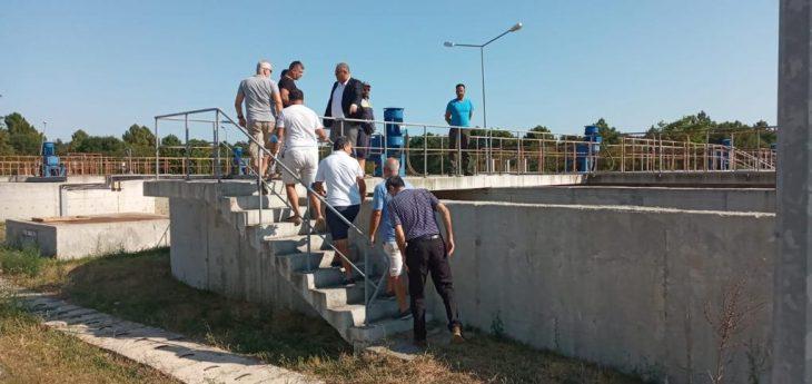 Başkan Günenç Enez Belediyesi Arıtma Tesisini Halka Açtı