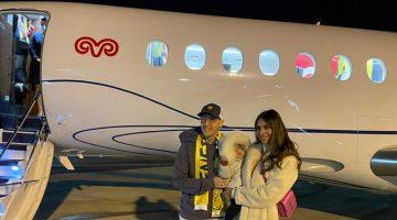 Mesut Özil'in uçağı saat 01.00'de İstanbul'a iniyor