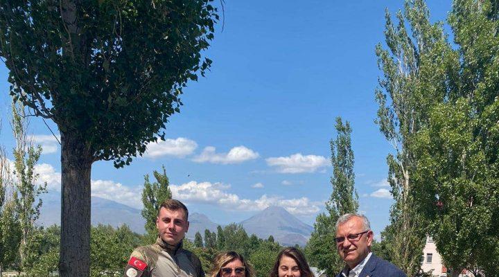 Helvacıoğlu Ailesinden Asker Çocukları Atacan'a ziyaret