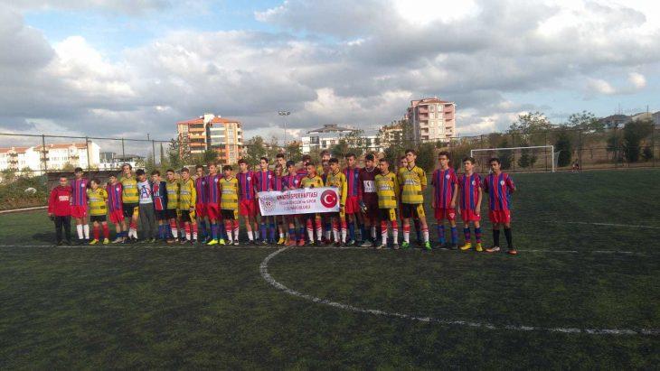 Keşan'da Amatör Spor Haftası etkinliği maçı