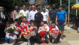 Türkiye Şampiyonları Süloğlu'ndan