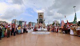 Dünyanın en iyi festivali Taksim Meydanı'nda start verdi
