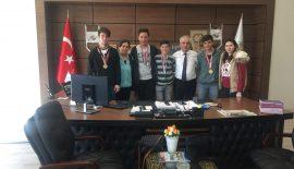 Marmara Bölge Şampiyonu Olan Keşan Anadolu Lisesi Bocce Takımı'ndan Özcan'a Ziyaret