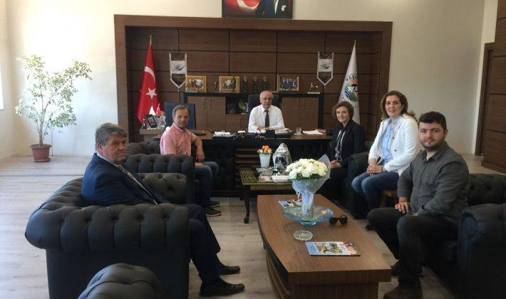 CHP Keşan Spor İlçe Kurulu'ndan Mehmet Özcan'a Ziyaret…