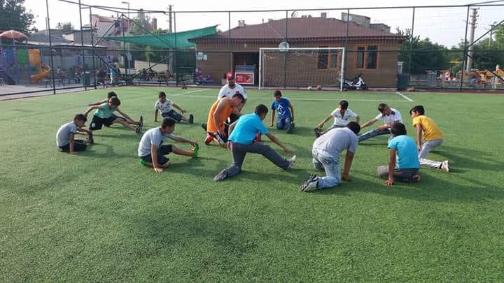 Keşanlı Gençler Belediyenin Spor Tesislerinden Yararlanıyor…