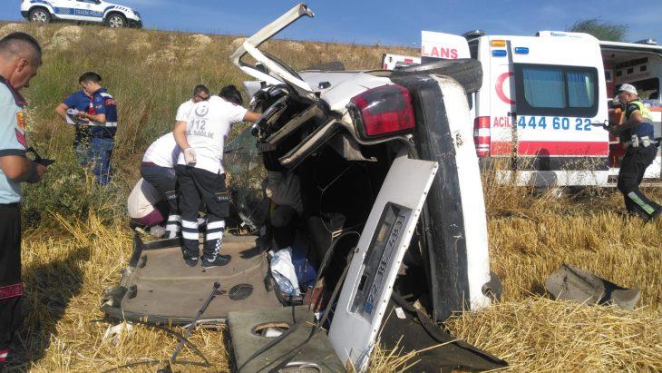 Uzunköprü-Keşan Karayolunda Meydana Gelen Trafik Kazası'nda 1 Kişi Yaşamını Yitirdi.