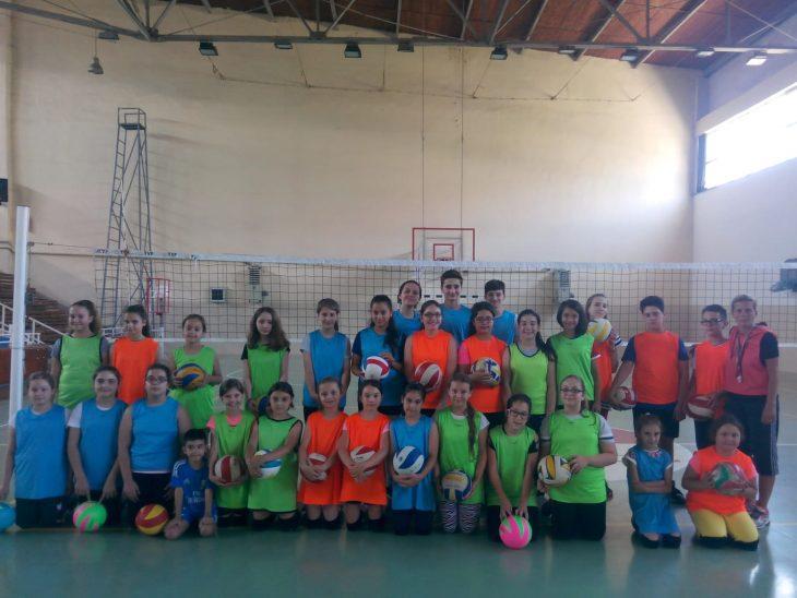 Keşan Belediyesi Yaz Spor Kursları'nda voleybol  ve basketbol kursları da başladı