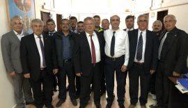 Süloğlu'nda Başkan ve Meclis Üyelerinden Ziyaretler
