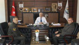 Keşan Askerlik Şubesi'nin Yeni Başkanı'ndan Özcan'a Ziyaret…