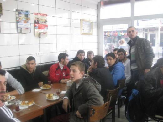 Çakır Börek'ten Anafartalarspor'a kahvaltı…