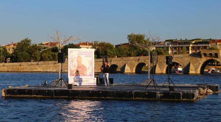 Büyükçekmece Gölü'nde konser