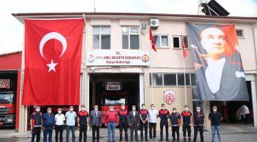 Kesimoğlu İtfaiye Haftasını Kutladı