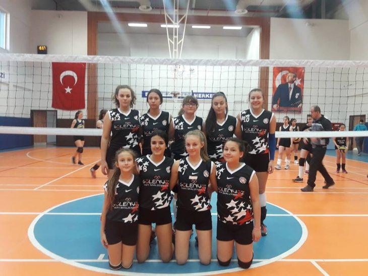 Keşan Yıldızı Spor Kulübü Küçük Kızlarda Lider…