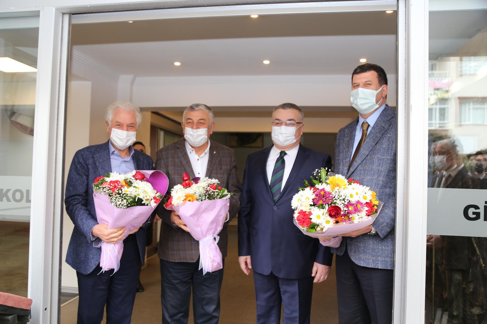 Kesimoğlu, İstanbul'dan Belediye Başkanlarını Konuk Etti