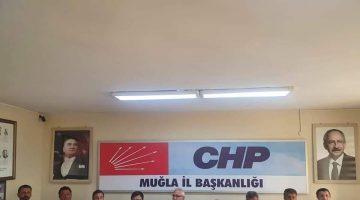Okan Gaytancıoğlu bir grup CHP'li Milletvekili ile Muğla'daki Yangın alanına gitti